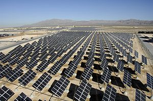English: Nellis Solar Power Plant