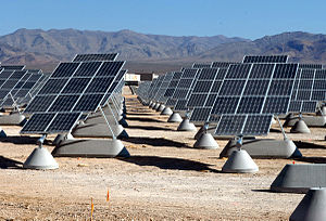 The largest photovoltaic solar power plant in ...